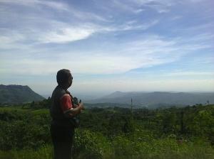 Dari atas Kawasan Ciherang by Lia